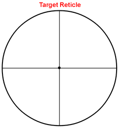 Sample Target Reticle