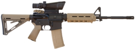 300 Blackout Rifle with Optic