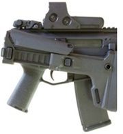 Folding Stock AR-15 with Optic