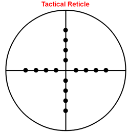 Sample Tactical Reticle